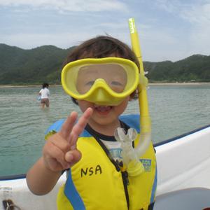 奄美大島ウミガメスイム 4歳からOK
