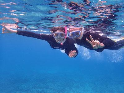 奄美ボートシュノーケル サンゴも魚もたっぷり!!
