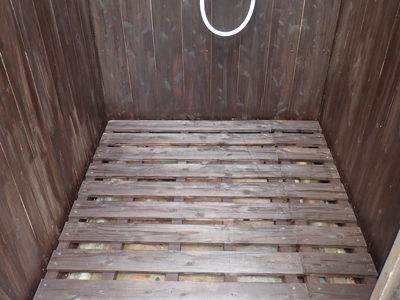 奄美ダイビング シャワー室補修